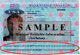 passport with chip