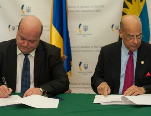 Ukraine Signs Visa Free Travel Agreement with Antigua and Barbuda