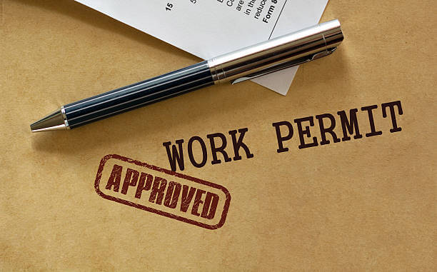 h4 work permit approvals