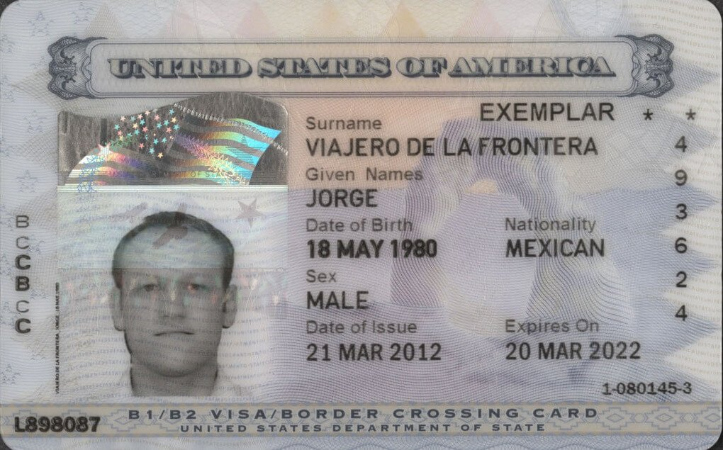 Border Crossing Card Bcc Information And Requirements For Mexicans