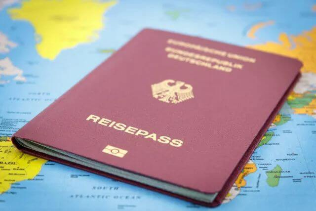 obtaining a german passport
