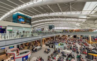 heathrow airport is the busiest airport in Europe