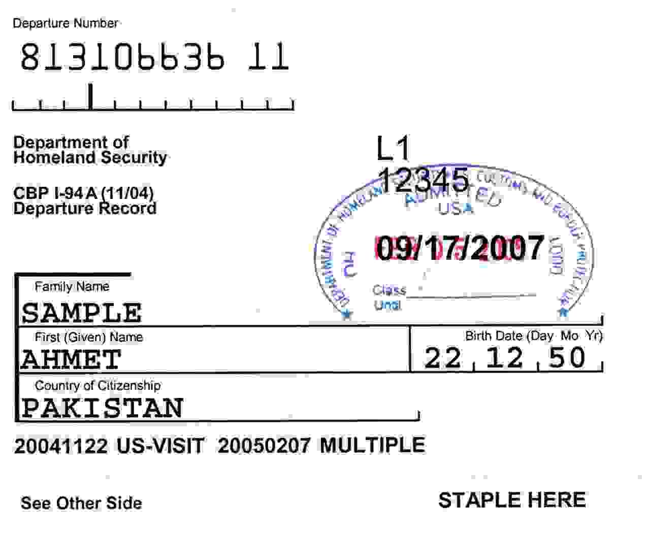 i 94 form sample 2018  Form i9 - Information and Details - VisaGuide.World