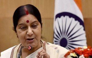 indian external affairs minister