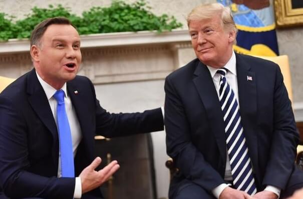 trump and the polish president