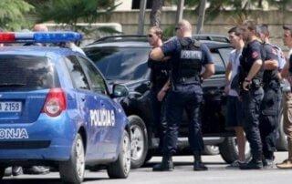 albanian police