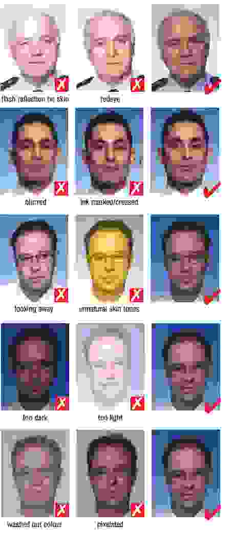 guidelines for visa photo quality