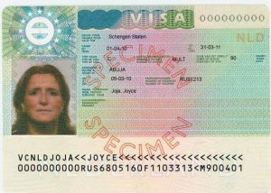 what does a schengen visa look like