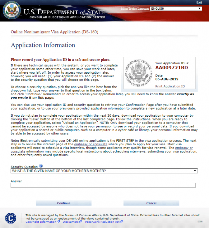 DS-160 Form - Comprehensive Guide to Filing the Online US