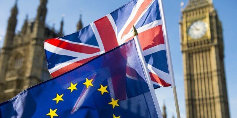 brexit eu flags